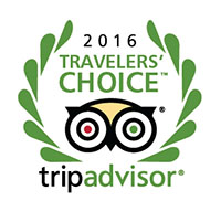 TripAdvisor 2016 Travelers' Choice
